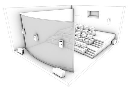Imax Private Home Theater Design & Installation | World Wide Stereo