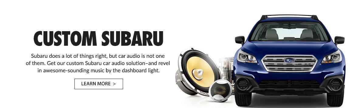 Upgrade your Subaru