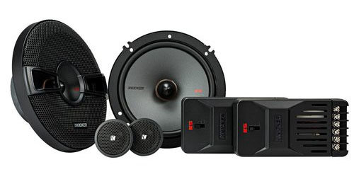 Kicker 44KSS6504 6-12 KS 2-Way Component Speaker System