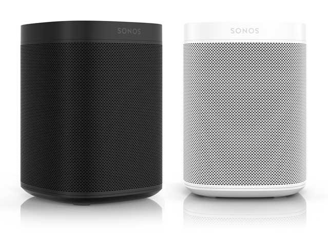 Sonos One Black and White Speakers