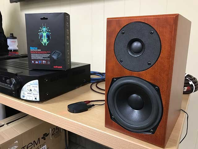 Audioquest Beetle with Totem Mites and a Marantz receiver