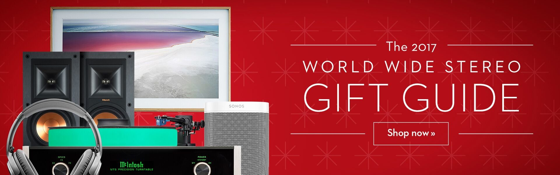 2017 World Wide Stereo Holiday Gift Guide