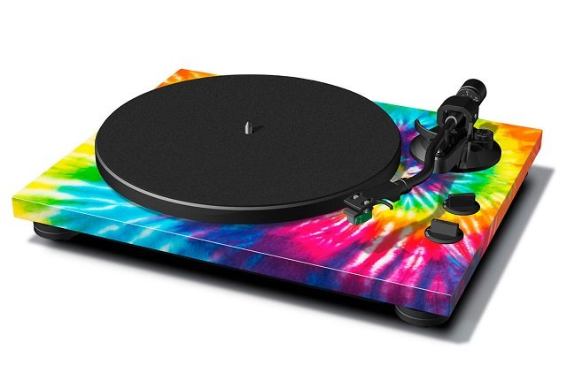 TEAC TN-420 Turntable Tie-Dye