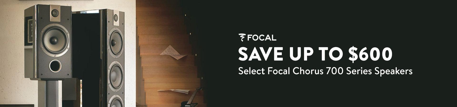 Focal Chorus 700 Series Speaker Sale